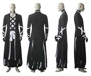cosplay costume inspiré par l'eau de Javel Kurosaki Ichigo bankai nouveau look. taille: L: hauteur 175cm-180cm