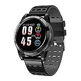 Sport Schritt für Schritt tragen Smartwatch Bluetooth Headset Kombination Smartwatch, Blutdruck Sauerstoff Herzfrequenz Smartwatch-Black