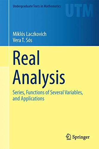 PDF Free] Real Analysis: Series, Functions of Several Variables, and