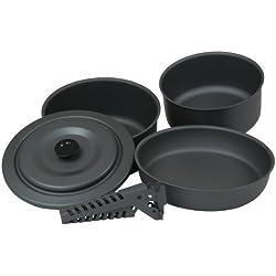 10T TEXAS Set casseroles Gris 5 pièces