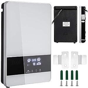 Bisujerro 18 KW Calentador de Agua Instantáneo 380W Calentador de Agua Eléctrico Hot Water Heater para Uso en Cocina o…