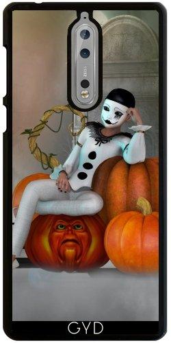 Hülle für Nokia 8 - Pumkin Clown by -