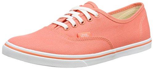 Vans Unisex-Erwachsene Authentic Lo Pro Sneaker Orange (fusion Coral/true White)