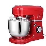Meykey Küchenmaschine, Stand-Mixer, Rührmaschine Knetmaschine, 800w, 5 Liter Edelstahlschüssel,...