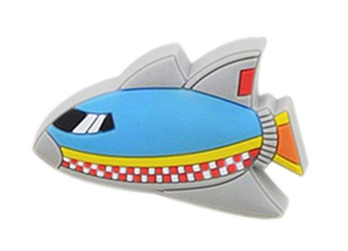 4PCS schöne Kinder Türgriffe Schubladengriffe Raumfahrzeug Pattern