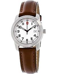 Victorinox Field Reloj de Mujer Cuarzo 30mm analógico Correa de Cuero 26005. 4d605297471d