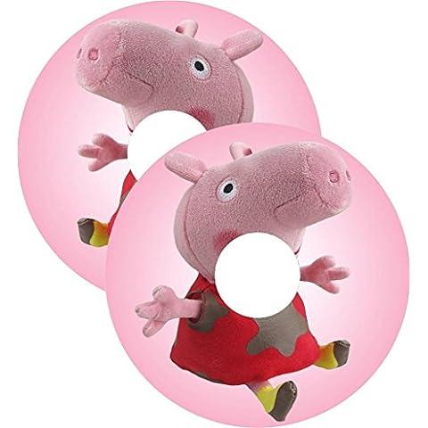 Sedia a rotelle Ha parlato Cover Per Copri Peppa Pig Ragazze Design Personalizzato Adesivi personalizzato(55.9cm GOMMA)