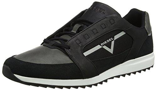 Diesel s-fleett, sneaker uomo, nero (black/castlerock), 46 eu