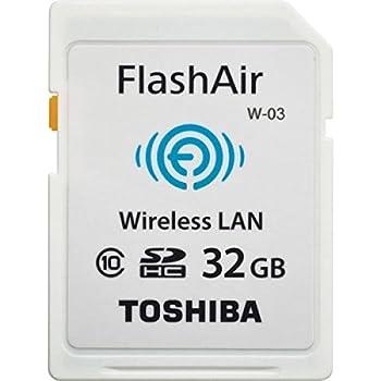 Toshiba FlashAir W-03 SDHC 32GB Class 10 Speicherkarte