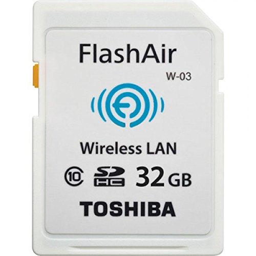 Toshiba FlashAir  - Tarjeta de memoria SDHC de 32 GB