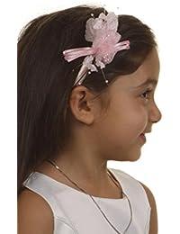Le joli serre-tête Lora de couleur rose pâle