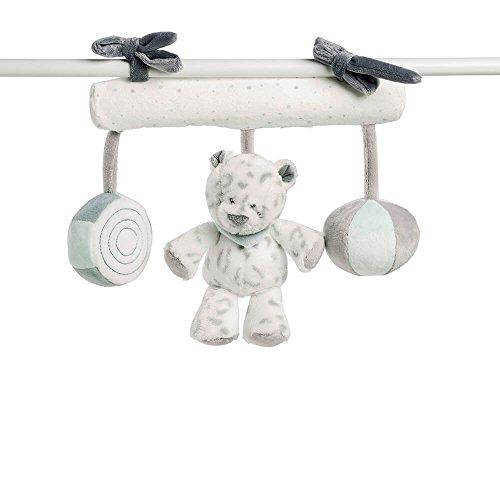 Preisvergleich Produktbild Nattou Babyschale Spielzeug Mädchen und Jungen, grau - Loulou, Lea und Hippolyte