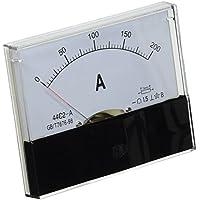 Clase 1,5 precisión DC 0-200A de corriente amperímetro con pantalla analógica