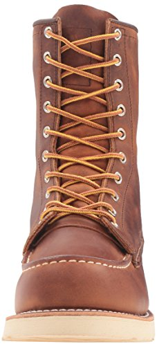 Red Wing Mens 8 Moc Toe Classic 8830 Leather Boots Copper