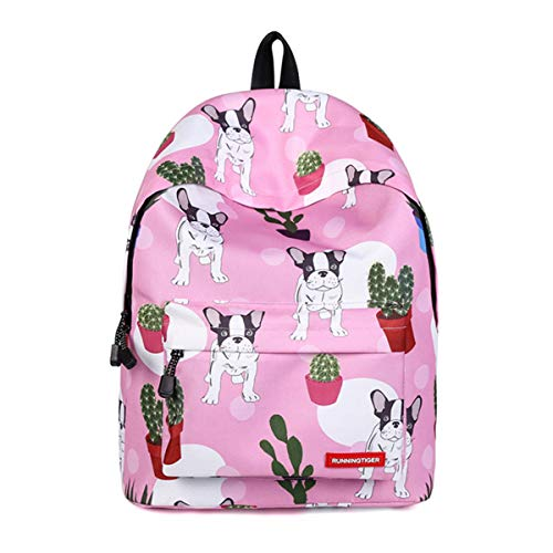 (HWX Rucksack für Mädchen: Fun & Funky Rucksack School Bag Große Geburtstags-Idee,a,40 * 30 * 17cm)