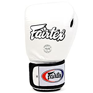 Fairtex BGV1-B Breathable Adult Boxing Gloves White