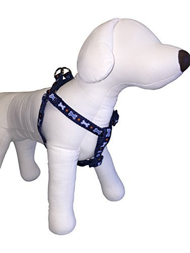 top-paw-dog-harness-for-small-dogs-w-girth-14-20-dog-bone-stars-41s-by-top-paw