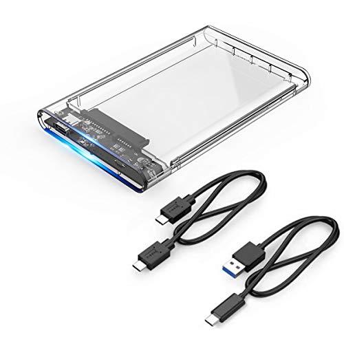 ORICO - Carcasa Disco Duro SATA III HDD/SSD 2,5 Pulgadas