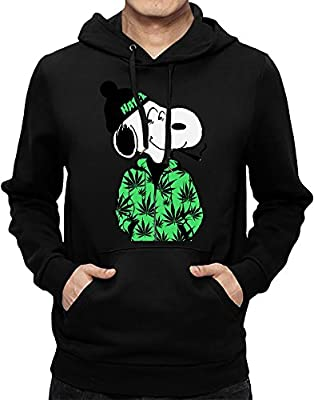 Rastaman Dog Hoodie Sweatshirt For Men| Custom -Printed Hooded Jumper W/ Brushed Inside| 80% Cotton- 20% Polyester| Premium Quality DTG Printing| Unique Clothing By Teezer Tee