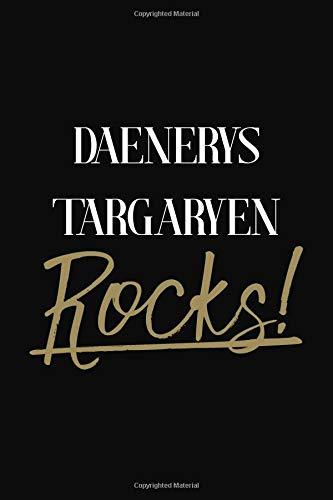 Daenerys Targaryen Rocks!: Daenerys Targaryen Diary Journal Notebook por Jenny Clarkson