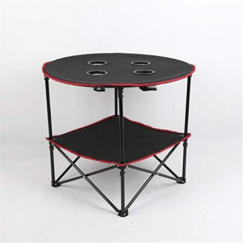 ZMXZMQ Picknick-Tisch Faltbar Mit Gepäcknetz Für Picknick Im Freien, Strand, Spiele, Camp