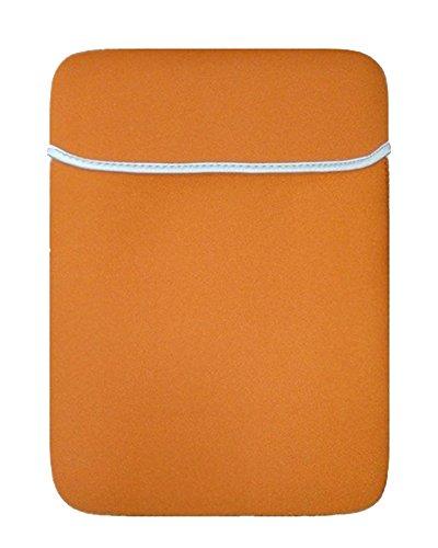 13-13.3 Zoll Basics Schutzhülle Schulter Tasche Notebooktasche Laptop Sleeve Laptops MacBook Air, MacBook Pro Retina Display Orange