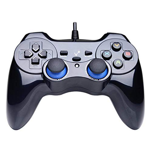bel Game Controller Controller Vibration Ergonomisches Design Griff Controller (Windows XP / 7/8 / 8.1/10) Gamepad ()