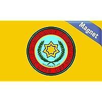 StickerTalk® 5× 3Eastern Band Cherokee bandiera nazionale Magnet nuovo magnetico in vinile decalcomanie