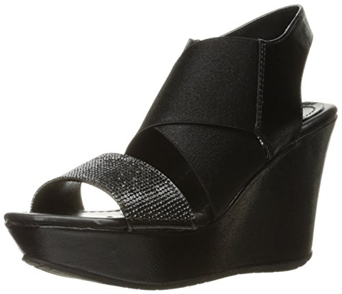 Kenneth Cole REACTION Women's Sole Less 2 Wedge Sandal, Black, 9.5 M - Schwarz Cole Kenneth Reaction-schuhe