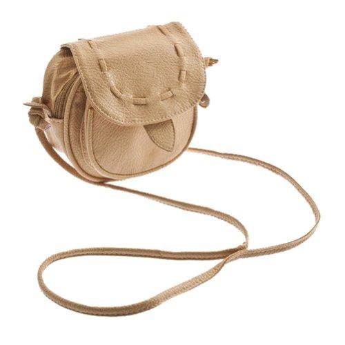Marrone chiaro - TOOGOO(R) Bello sveglio marrone chiaro delle donne piccola borsa Baguette Satchel Shoulder Bag Messenger Sera