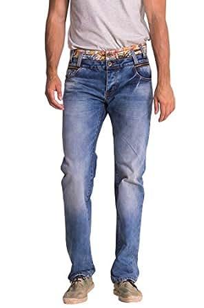 desigual pablos jeans droit homme bleu denim. Black Bedroom Furniture Sets. Home Design Ideas