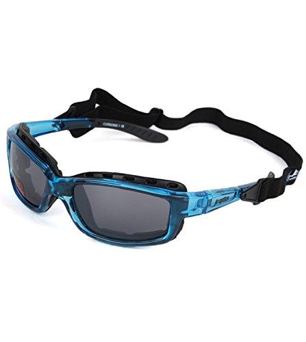 STYLER BASIC Sportbrille JC-Optics Sonnenbrille crystal blue