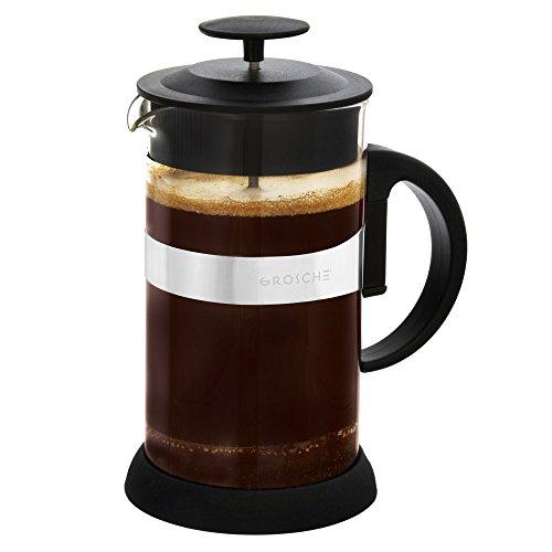 grosche-zurich-caffettiera-a-pressione-e-teiera-acciaio-inossidabile-nero-l-1000-ml