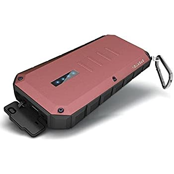iWALK Extreme Spartan - power banks (Lithium-Ion (Li-Ion), DC, USB, Red, Aluminium, Rubber, Smartphone, Tablet, Universal, Micro-USB)