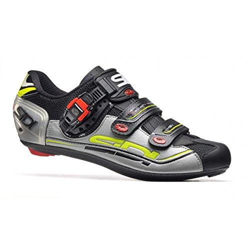 Chaussures route GENIUS 7 Running Trail Sidi noir/argent