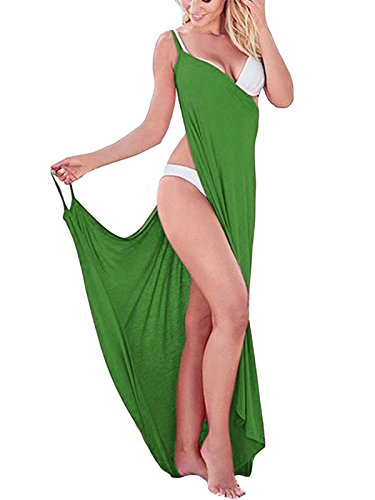 Leezeshaw - Copricostume - halterneck - Senza maniche  -  donna Green