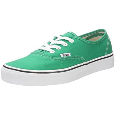 Vans Authentic, Baskets mode mixte adulte - Vert ((Primary) Jelly B), 36 EU
