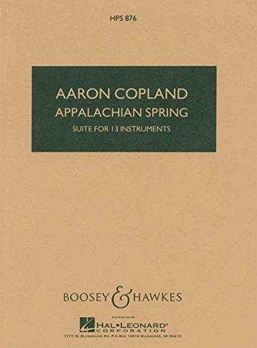BOOSEY & HAWKES COPLAND AARON - APPA...