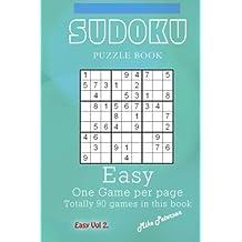 Sudoku Puzzle - Easy - Vol 2 - My Favorite Puzzle Book: Volume 11 (My Favorite Puzzle Book - Sudoku)