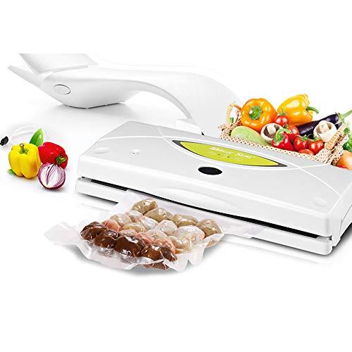 HPDOK Lebensmittel-Vakuumierer Mit Starter-Kit/Vakuumierer / 32 cm SchweißNaht / 10 Sekunden Siegelzeit/Trocken- Und Nassbetrieb/Kompaktbauweise/Lagerung Und Konservierung Von Lebensmitteln.