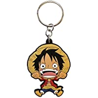 ABYstyle One Piece PVC Luffy SD Llavero Multicolor - Funda (Llavero, Multicolor, PVC, 40 mm, 55 mm, 1 Pieza(s))