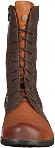 Think! Damen Denk Desert Boots Braun (Schoko/Kombi 46)