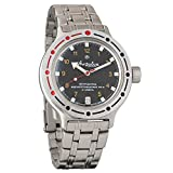 Vostok Amphibia Russian Army 200m WR Mechanical AUTO Automatic Rope Watch 420270