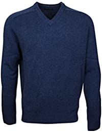 174602 - Bots & Bots - V-Neck Pullover Homme - Lambswool - Normal Fit