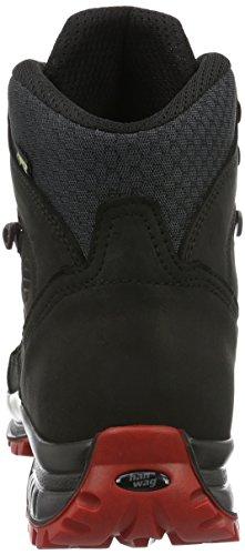 Hanwag Banks Ii Gtx, Chaussures de Randonnée Hautes Homme Noir (Black)