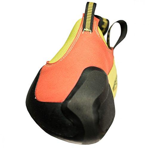 La Sportiva Kinder Kletterschuhe gelb/rot