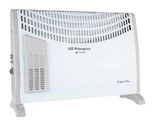 Orbegozo CVT 3650 – Convector de calor con función turbo, 2000 W de potencia, 3 niveles de funcionamiento