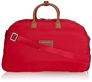 tommy hilfiger reisetasche smart medium duffle 58 cm 57 liters rot red smart ww60703 amazon. Black Bedroom Furniture Sets. Home Design Ideas