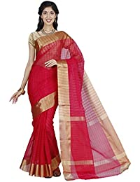 The Chennai Silks - Seco Silk Cotton Saree - Crimson - (CCRISC307)