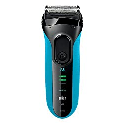 Braun Series 3 Elektrischer Rasierer 3040s, blau